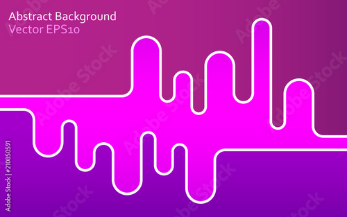 Foto op Canvas Abstractie Art Gradient abstract vector background