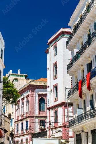 Wall Murals Algeria French Colonial Architecture in Algiers, Algeria