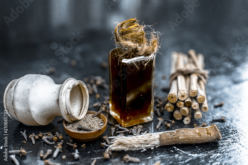 Photo Popular home remedy for toothache or tooth related problems i