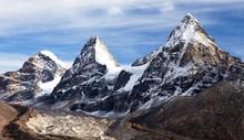 View Of Nepal Himalayas Mounta...