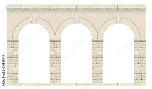 Classic antique arch 1 Canvas Print