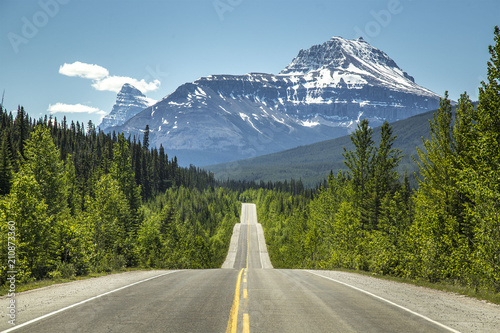 Canada mountains Highway
