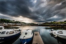 Plockton In The Eye Of A Storm