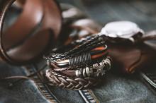Leather Bracelets For Men