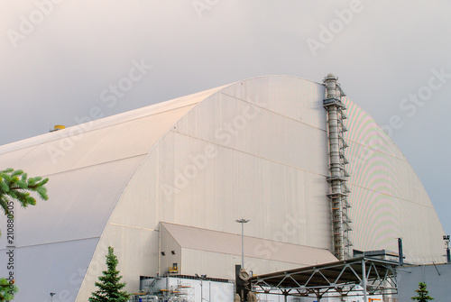 New Safe Confinement (NSC or Shelter), a structure built to