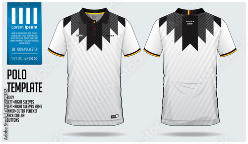 f576a9967 Germany Team Polo t-shirt sport template design for soccer jersey, football  kit or