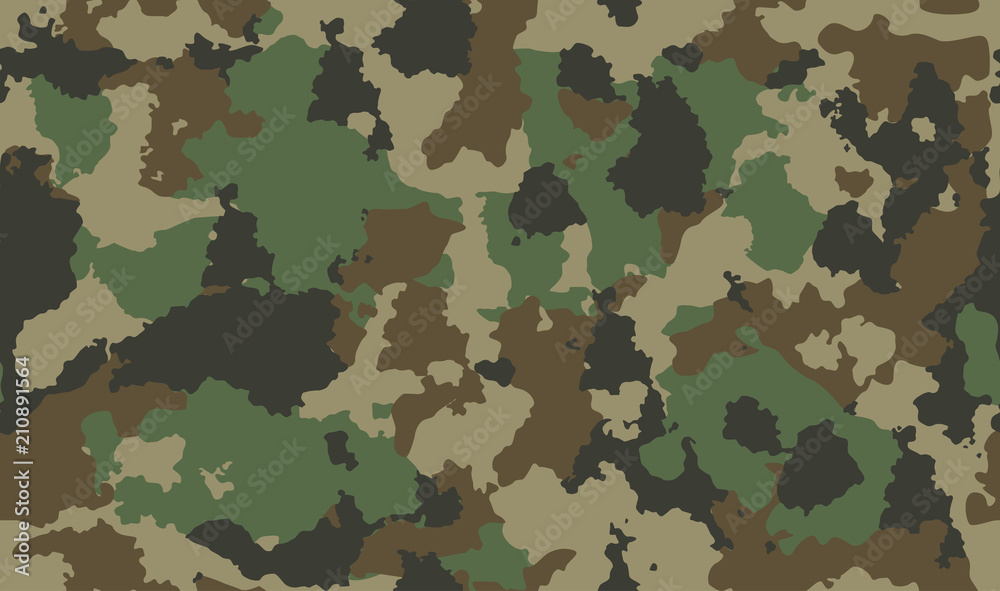 Fototapeta texture military camouflage repeats seamless army green hunting dirty background