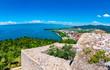 Blick von der Festung Ohrid auf Daljan