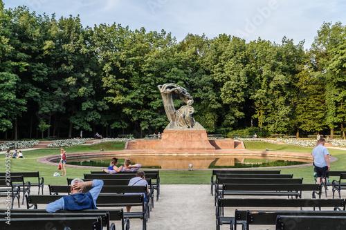 Opoczynek przed pominikiem Chopina w Warszawie