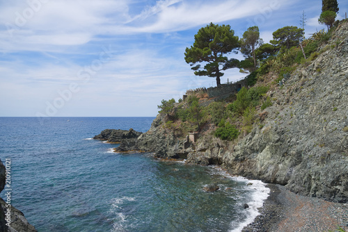 Tuinposter Kust Ligurian Coast of Levante - Levanto - Italy