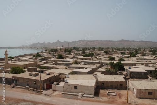 Fotografija  Center of Hormuz, Iranian island in the Persian Gulf