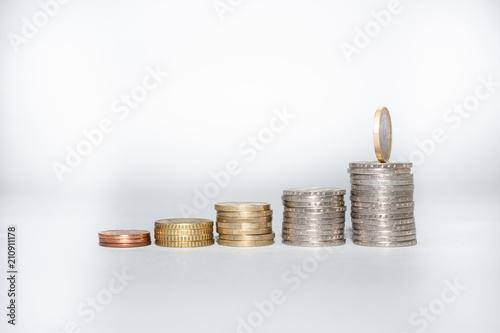 Geld sparen Fototapet