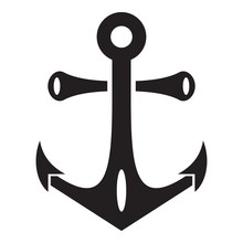 Nautical Anchor Icon. Simple I...