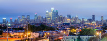 Philadelphia Skyline At Night,...
