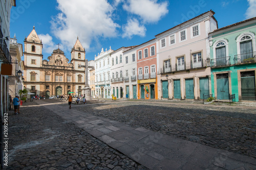 Papiers peints Fortification Pelourinho in Salvador Bahia, Brazil