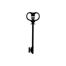 Key Skull Icon