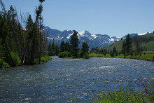 Sawtooth Mountains And The Sal...