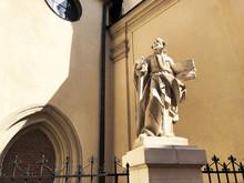 Catholic Statue Of A Man