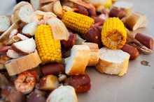 Freshly Cooked Southern Boil W...