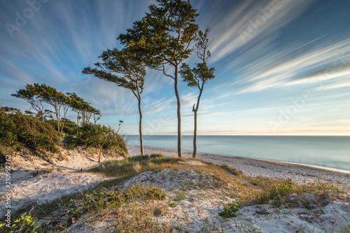 Obraz Piękne niebo nad morzem - fototapety do salonu