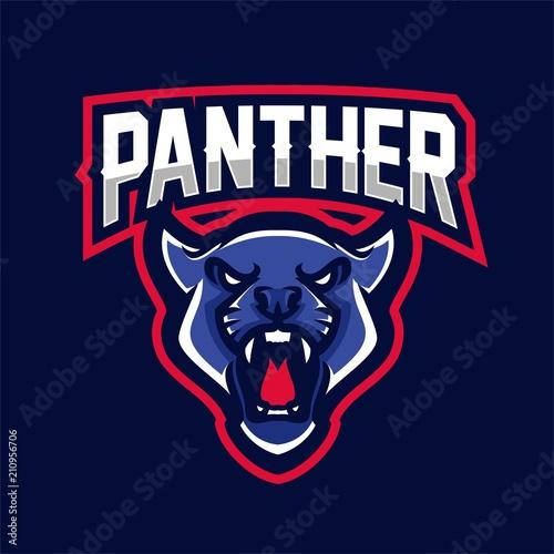 Jaguarpantherpumaleopard Logo Brand Mascot Sport Head Club