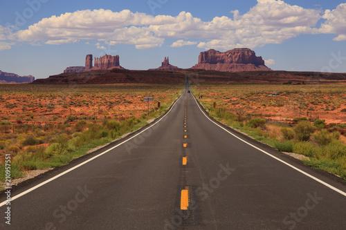 Canvas Prints Route 66 Forrest Gump Road