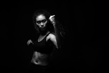 Fitness Woman, Girl Can Do Strong