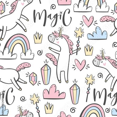 wzor-magia-jednorozce