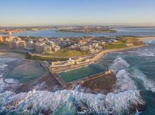 Newcastle Ocean Baths Aerial A...