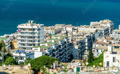 Wall Murals Algeria Moorish Revival architecture in Algiers, Algeria