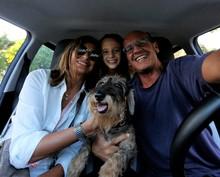 Selfie Famiglia In Viaggio In ...