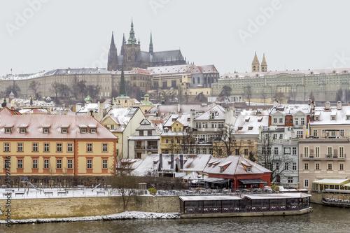 Plakat Praga w Republice Czeskiej
