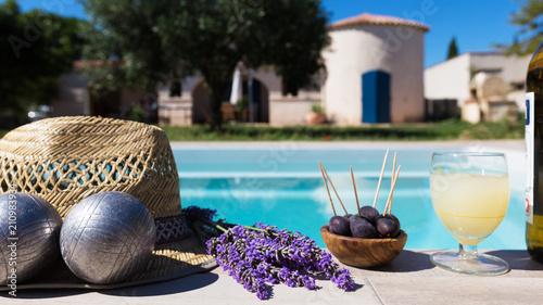 Spoed Foto op Canvas Lavendel Provence en été
