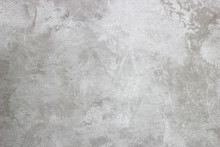 Abstract Texture Of Decorative Plaster. Grunge Background Of Stucco Texture. Gray Painted Surface.