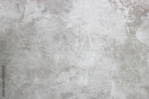 Fototapeta Abstract texture of decorative plaster. Grunge background of stucco texture. Gray painted surface. obraz