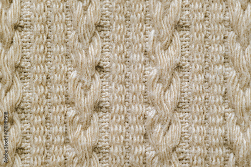 Fotografia, Obraz  Pullover Knitted Texture