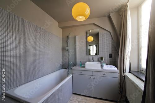 Foto salle de bain rénovée