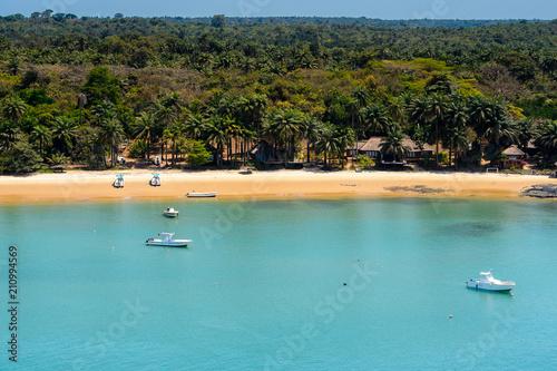Fotografía An island of the Bissagos Archipelago (Bijagos), Guinea Bissau