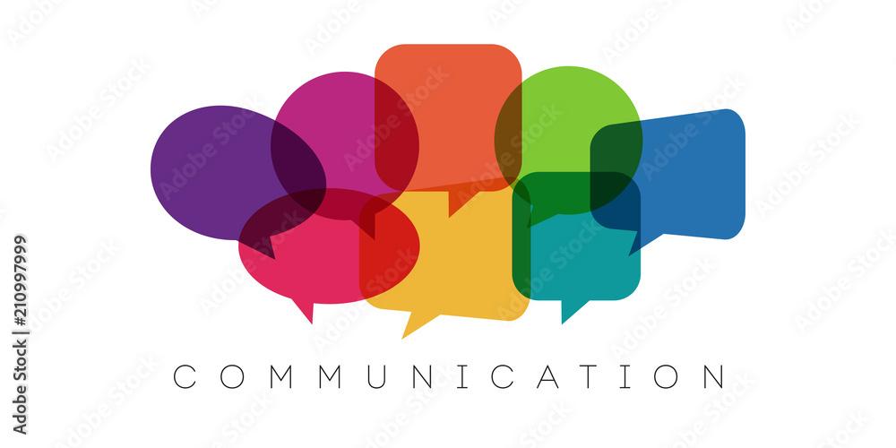 Fototapety, obrazy: speech bubbles, communication concept, vector illustration