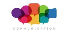 Speech Bubbles, Communication Concept, Vector Illustration