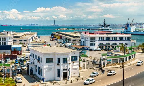 Port of Algiers, the capital of Algeria