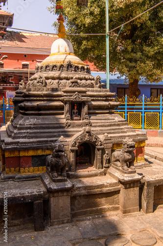 Foto op Plexiglas Artistiek mon. Architecture of Kathmandu, the capital city of the Federal Democratic Republic of Nepal, Asia