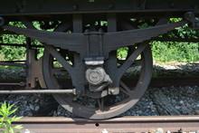Essieu D'un Train à Vapeur To...