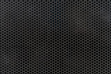 Black and white dotted halftone vector background. Subtle regular dotted overlay. Abstract monochrome background. Black ink dotwork on transparent backdrop. Perforated template. Pop art retro design - 211020954
