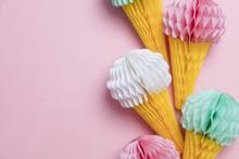 Paper Ice Cream Cone Decoratio...
