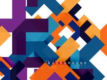 Multicolored Abstract Geometri...