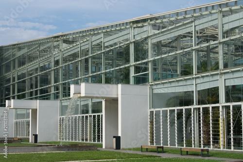 Fototapeta część nowoczesna ogrodu botanicznego w Padwie obraz