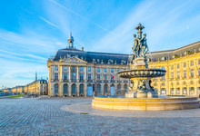 View Of Place De La Bourse In ...