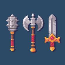 Set Of Three Medieval Fantasy ...