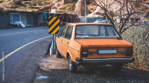 Old Car Parking